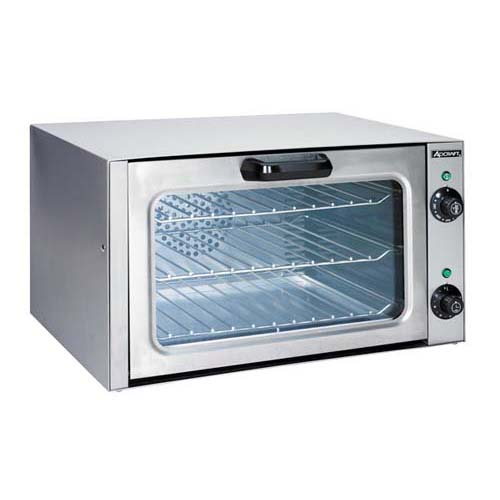 AdCraft Economy Stainless Steel Quarter Size Convection Oven COQ-1750W