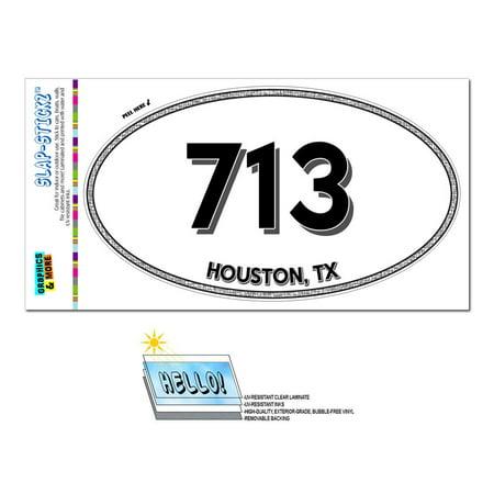713 - Houston, TX - Texas - Oval Area Code