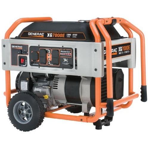 Generac 5798 XG Series 7,000 Watt Electric-Manual Start P...