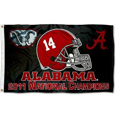 University of Alabama Crimson Tide Flag (University Of Alabama Party Supplies)