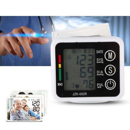 Health Care USB Upper Arm Wrist Automatic Electronic Digital Blood Pressure Monitor Sphygmomanometer Heat Rate Monitor Meter U3 (Measuring Heart Rate)