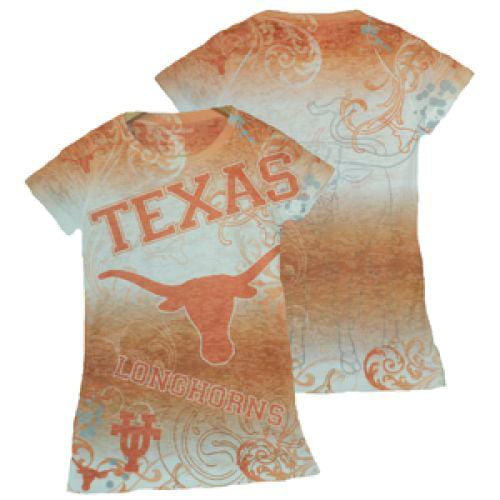 Texas Longhorns Shirt - Women's Sublimated T Shirt
