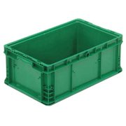 ORBIS Distribution Container,24 In. L,15 In. W NSO2415-9 Med Green