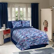 Soccer Locker Bedding Comforter Set