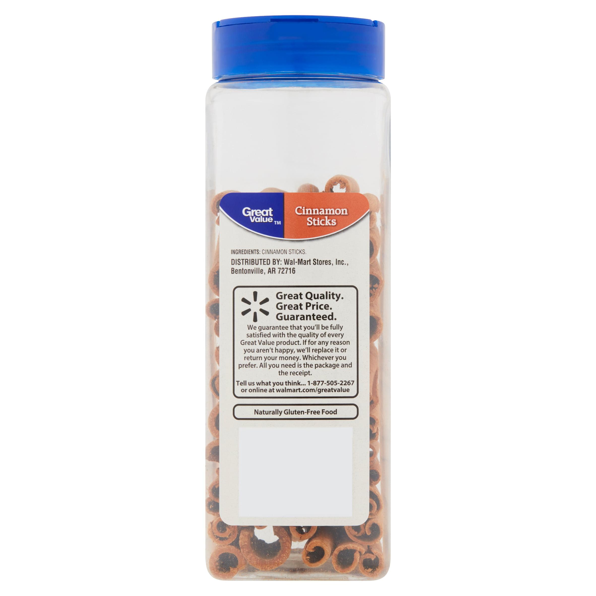 Great Value Cinnamon Sticks, 9 oz - Walmart com