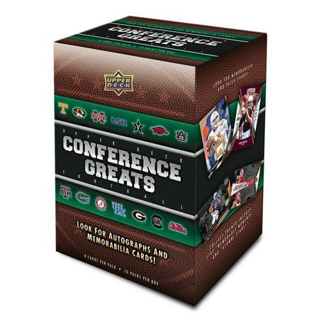 2014 Upper Deck Conference Greats  Football Blaster Box