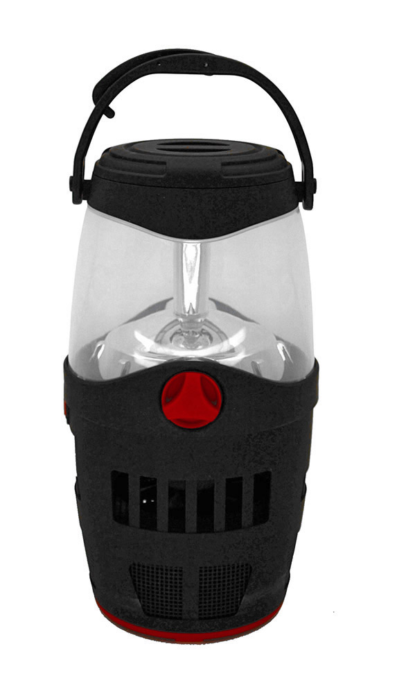 Rechargeable Lantern with Mosquito Trap Red by TarrKenn