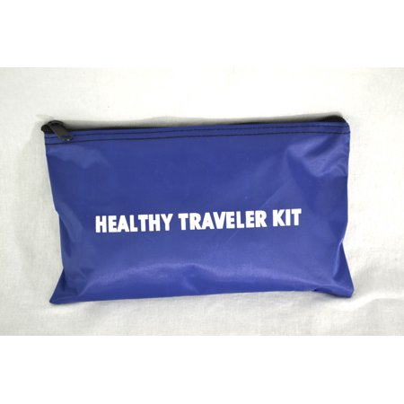 - Healthy Traveler Kit Domestic Travel First-Aid Kit - 76301B, 9 x 6, Poly-Bagged Domestic Kit-1 Each