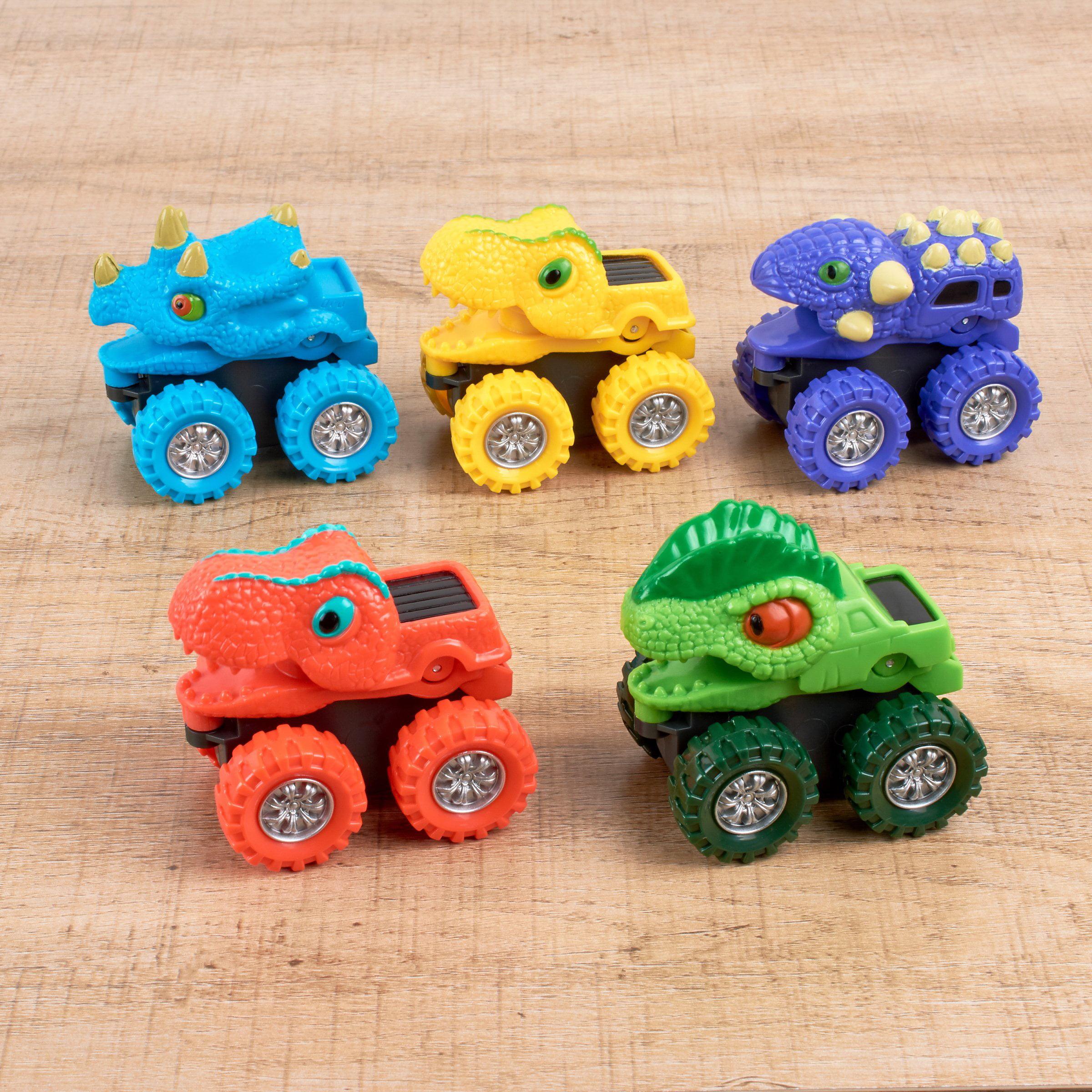 Spark Create Imagine 5 Piece Dino Monster Truck Play Set Walmart Com Walmart Com