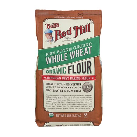 Bob's Red Mill 100% Stone Ground Whole Wheat Organic Flour