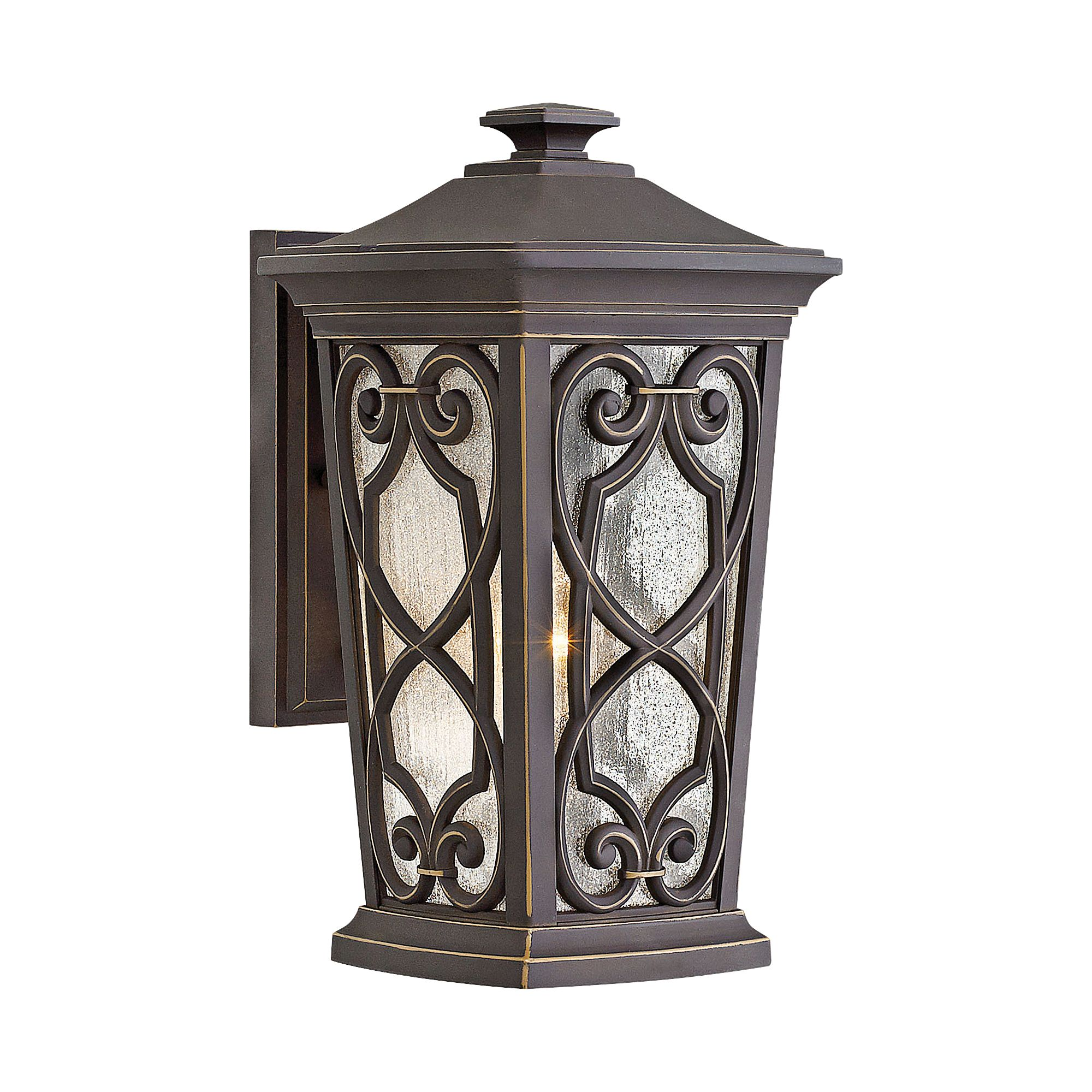 "Hinkley Lighting 2274 Enzo Single Light 14-1/4"" High Outdoor Wall Sconce with Se"
