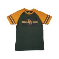 Baylor Bears Colosseum YOUTH Boy's Green & Yellow Short Sleeve T-Shirt 12-14 (M)