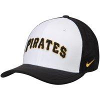 Pittsburgh Pirates Nike Vapor Performance Swoosh Flex Hat - White/Black