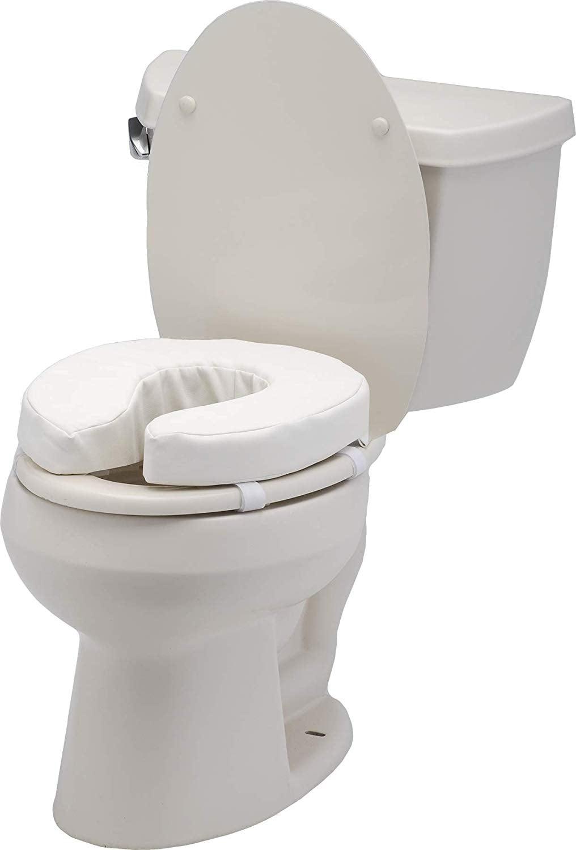 Nova Toilet Seat Cushion And Riser 4 Padded Toilet Seat