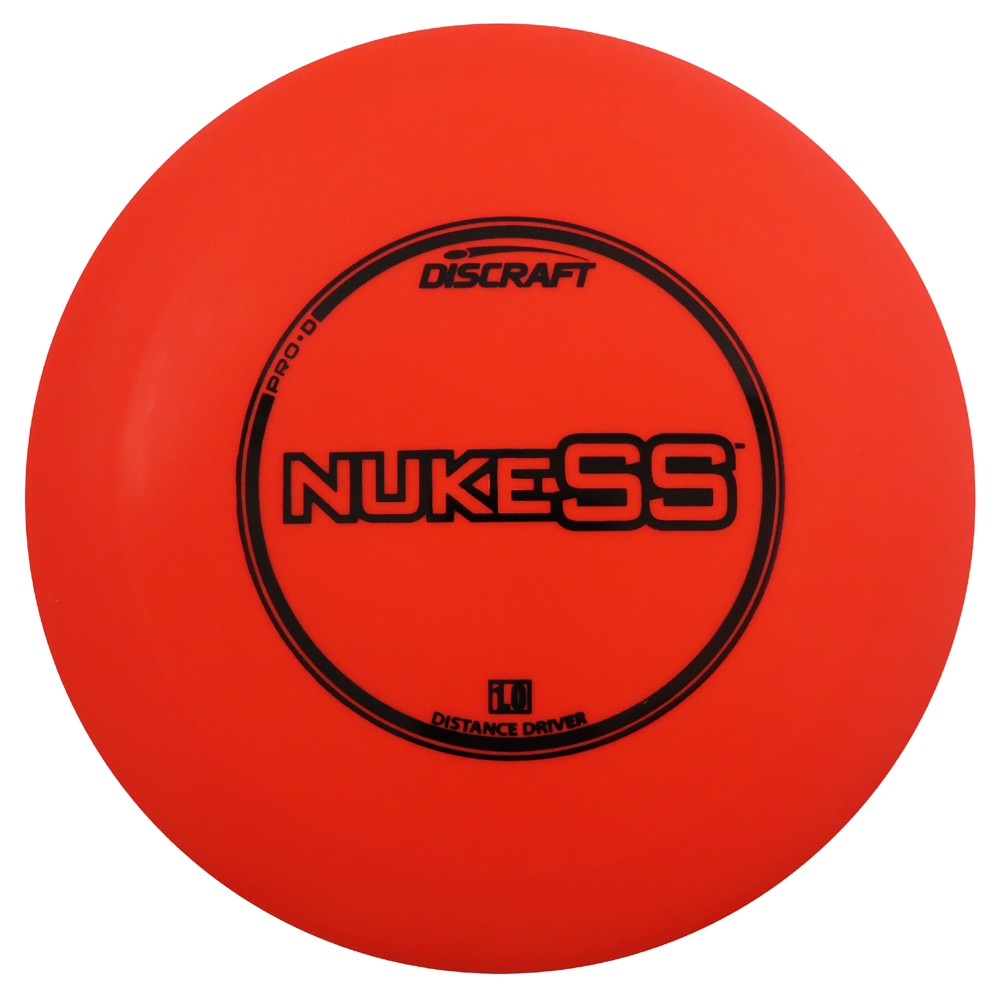 Discraft Pro D Nuke SS 173-174g Distance Driver Golf Disc [Colors may vary] - 173-174g