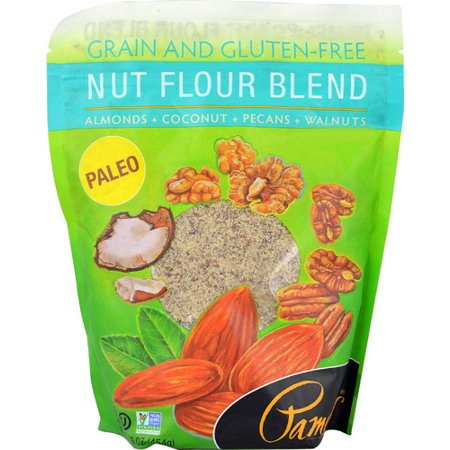 Pamela's Products Nut Flour Blend Gluten Free -- 16 oz pack of 1 ()