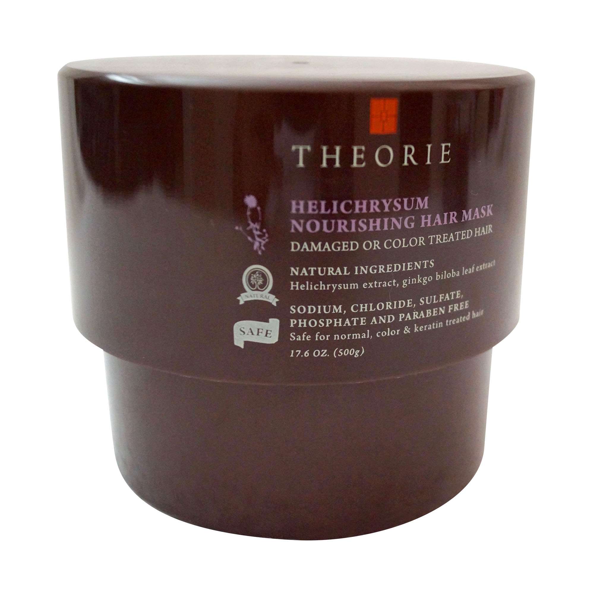 Theorie Helichrysum Nourishing Hair Mask, 500 ml.