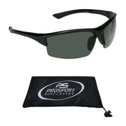 proSPORT Bifocal Sunglasses Sun Readers Tinted for Men and Women with TR90 Semi Rimless Wraparound Sport Frame