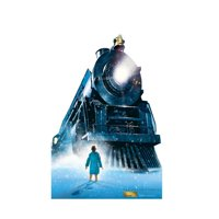 69 x 46 in. The Polar Express Train - Cardboard Standup