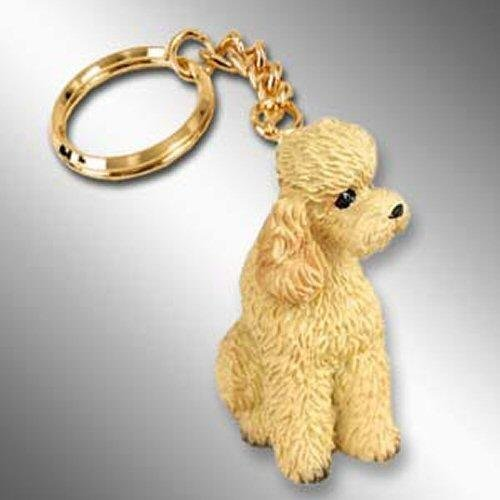 Poodle, Apricot, Sport Cut Tiny Ones Dog Keychains (2 1/2 in)