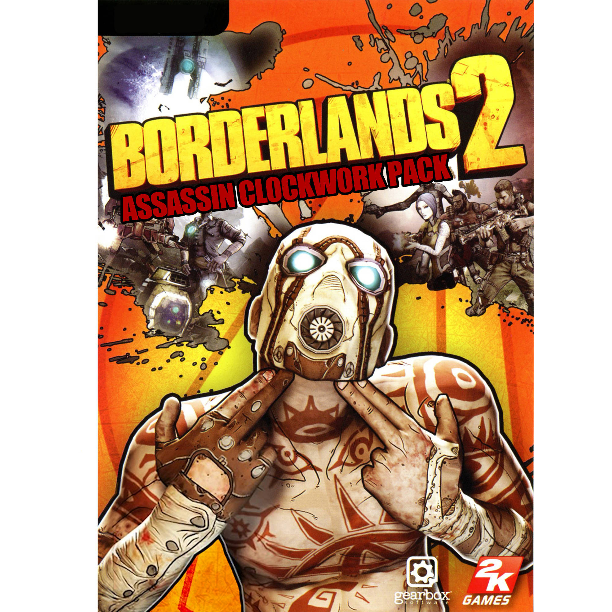 Image of Borderlands 2: Assassin Cl0ckw0rk Pack