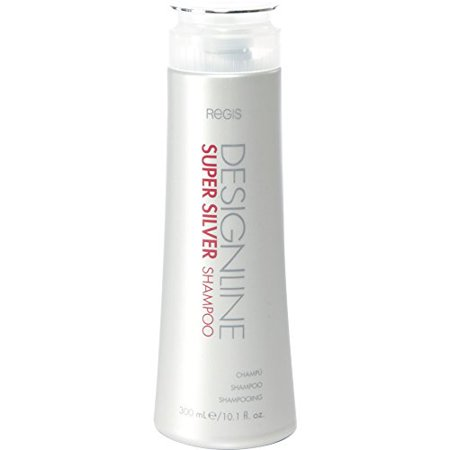 Super Silver Shampoo, 10.1 oz - DESIGNLINE - Restores Moisture to Boost Color Brilliance for Blonde, Grey, and White Hair and Strengthens, Detangles, and Improves Elasticity to Prevent Color Fade ()