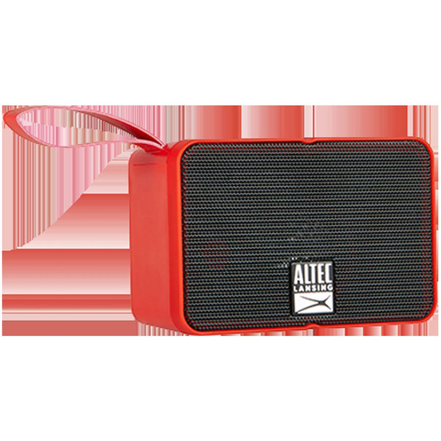Altec Lansing iMW120 Solo Motion Bluetooth Speaker, Red by Altec Lancing