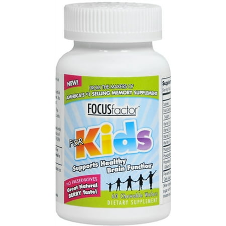 Vital Basics Focus Factor For Kids Supplement, 60 ea