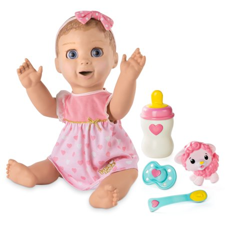Luvabella - Blonde Hair - Responsive Baby Doll with Realistic Expressions and - Creepy Baby Doll