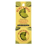 Burt's Bees 100% Natural Lemon Butter Cuticle Cream - 0.6 Ounce Tin