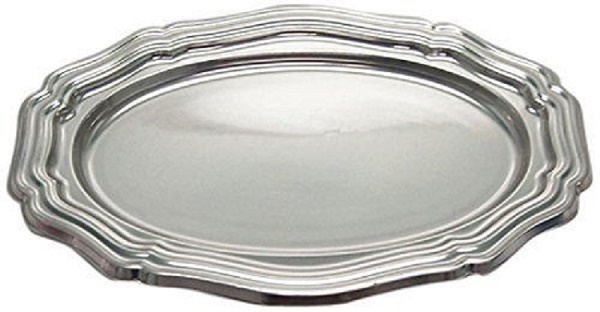 5ct Silver Plastic Serving Trays Disposable 10 1/2  x 15 1/2  sc 1 st  Walmart.com & 5ct Silver Plastic Serving Trays Disposable 10 1/2