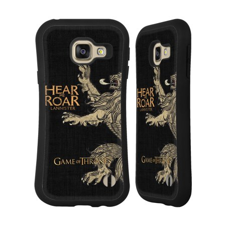 Official Hbo Game Of Thrones House Mottos Hybrid Case For Samsung Phones
