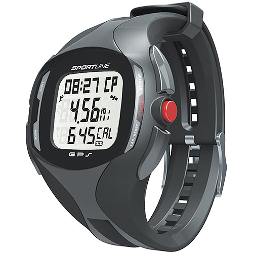 Sportline Cardio GPS Heart Rate Monitor, Black
