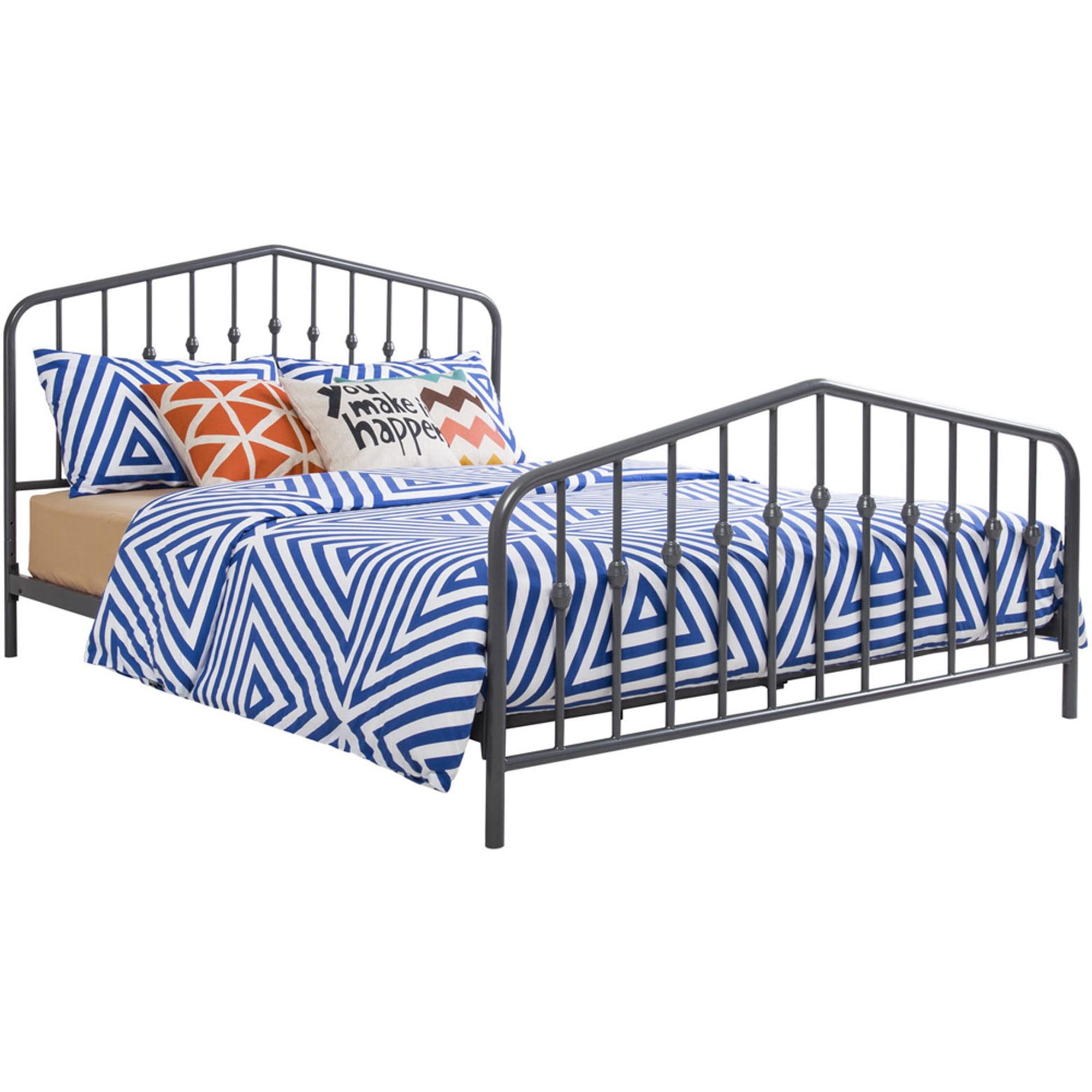 Novogratz Bushwick Metal Bed, Multiple Colors and Sizes - Walmart.com