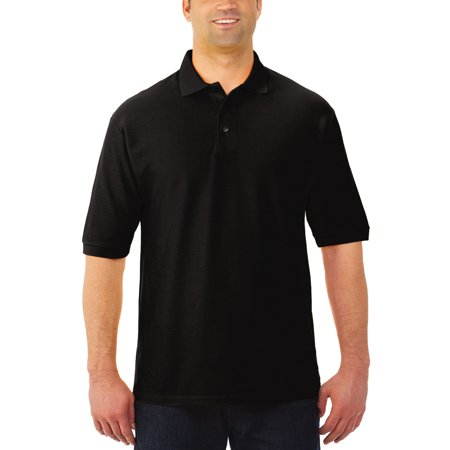 Jerzees Men's Easy Care Short Sleeve Polo
