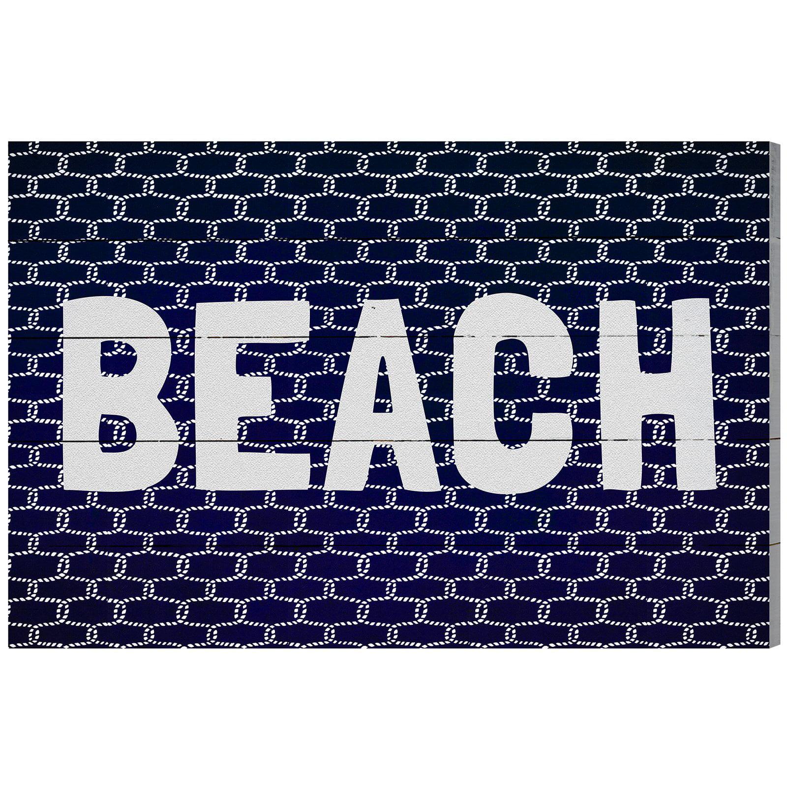 'Beach Knot' Plaque Art by Art Remdey, LLC