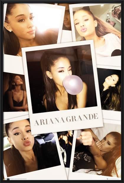 Poster Ariana Grande Pop Singer Star Room Club Art Wall Cloth Print 217