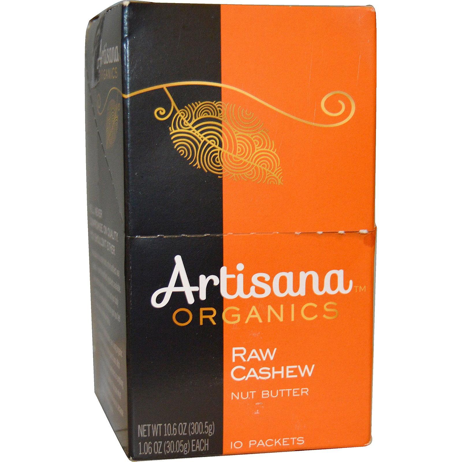 Artisana, Organics, Raw Cashew Nut Butter, 10 Packets, 1....