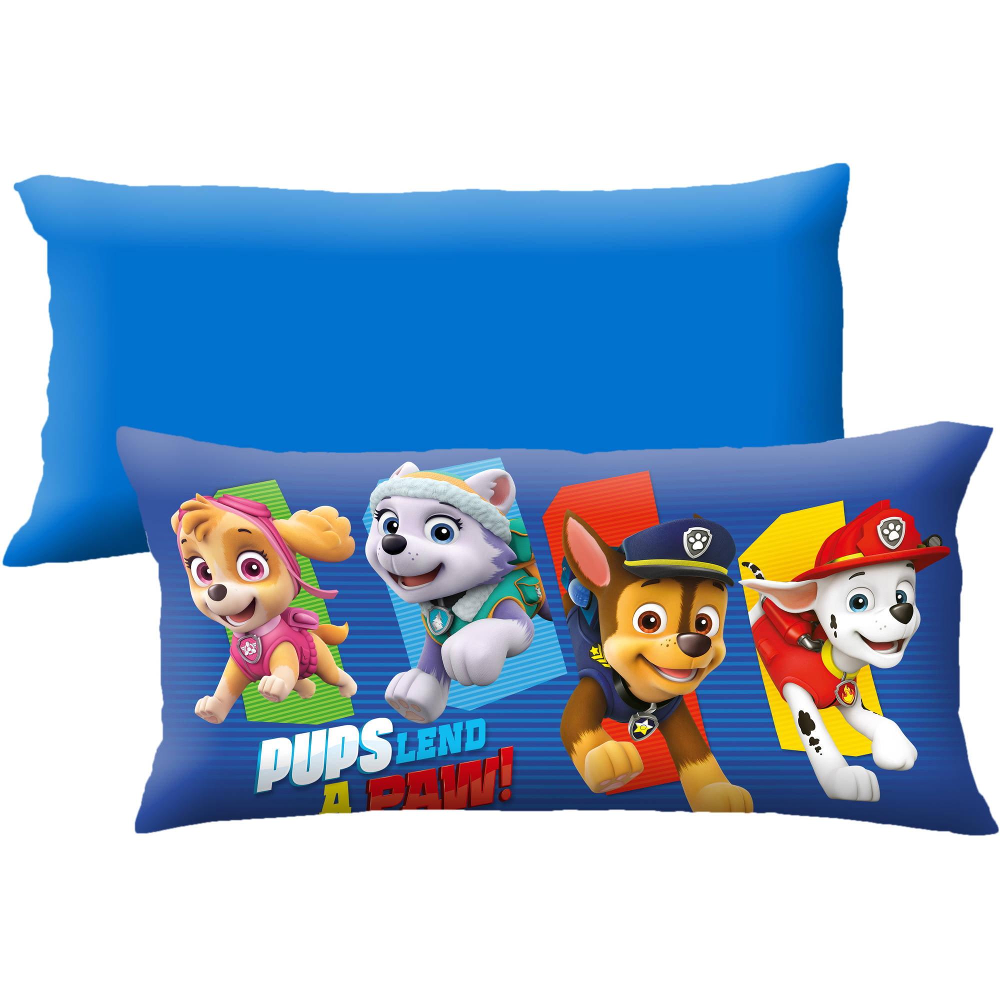 Nickelodeon S Paw Patrol Lend A Paw 18 X 36 Body Pillow