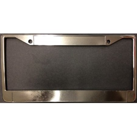 100a Service Panel (Chrome Double Panel License Plate Frame - 100 pk)