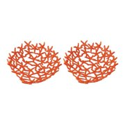 Dimond Home 165-008/S2 Hand Forged Orange Starfish Bowl - Set of 2