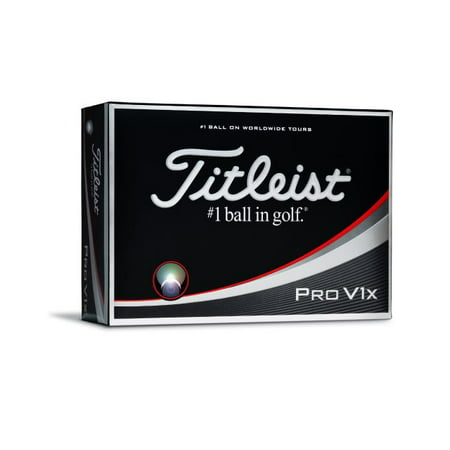 (Titleist Pro V1x Golf Balls, 12 Pack)