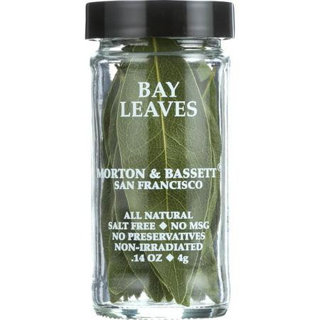 Morton & Bassett Spices Bay Leaves, .14 Oz (Pack Of