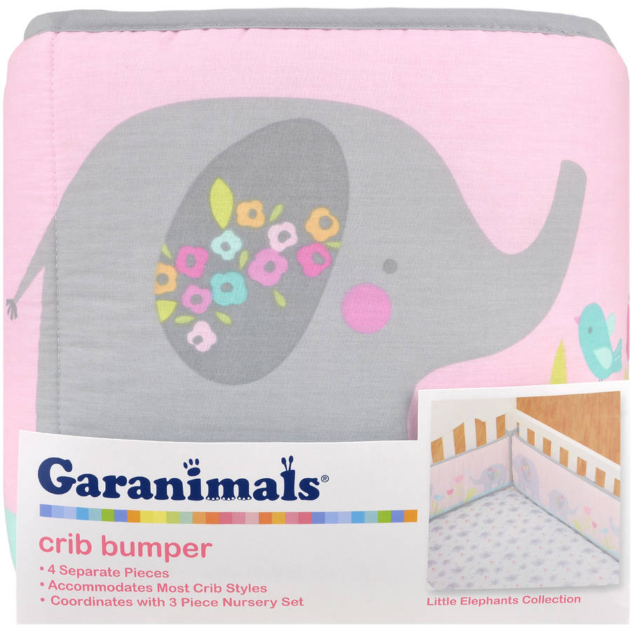 Garanimals Elephant Family Crib Bumper