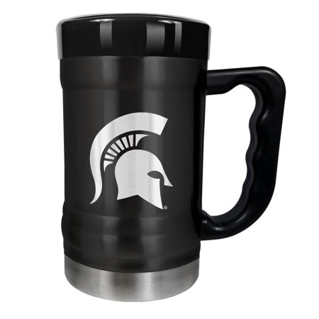 Michigan State Spartans 15oz. Stealth Coach Coffee Mug - Black - No Size
