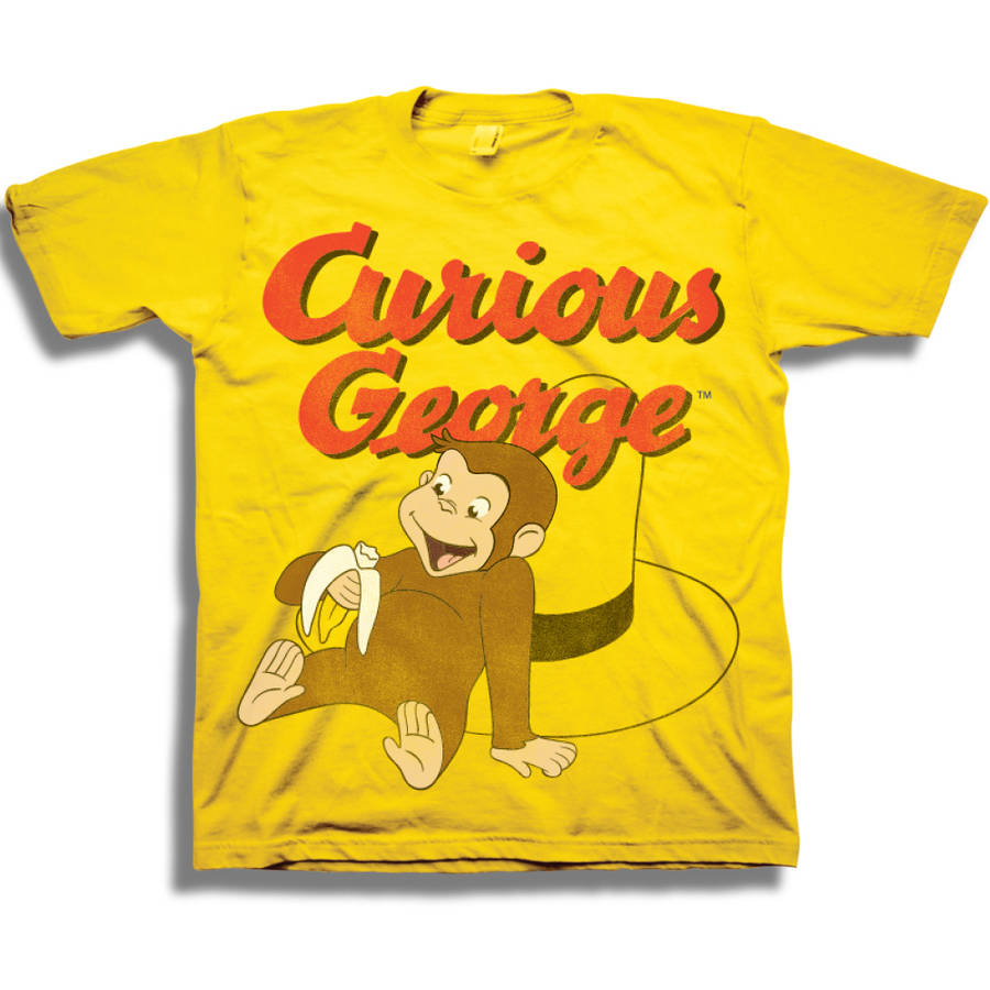 NBC Universal Curious George Toddler Boy Short Sleeve T-Shirt
