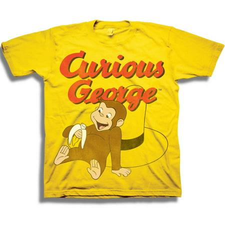 Nbc Universal Curious George Toddler Boy Short Sleeve T Shirt