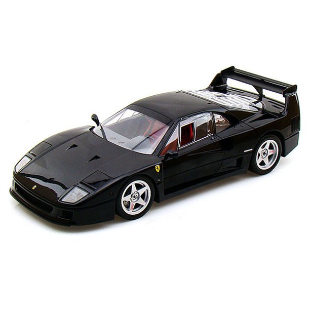 Ferrari F40 Light Weight With LM Wing High End Version Black 1/18 Diecast Model Car by Kyosho ...