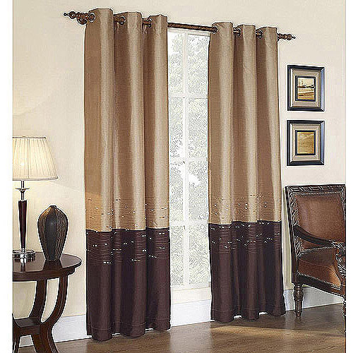 Horizon Grommet Lined Curtain Panel