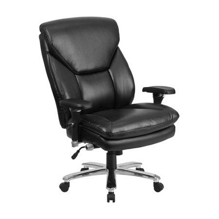 latitude run ash high back leather executive chair walmart com